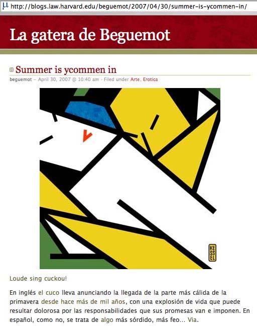 beguemot-webpage