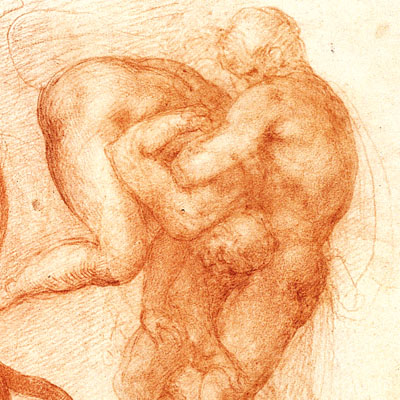 michelangelo-wrestlers-sketch