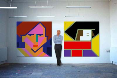 bob-kessel-with-paintings