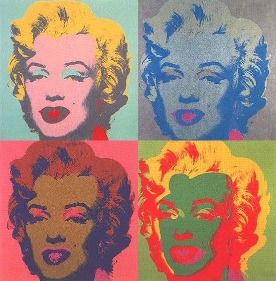 Warhol's Marylin from BobKessel.com