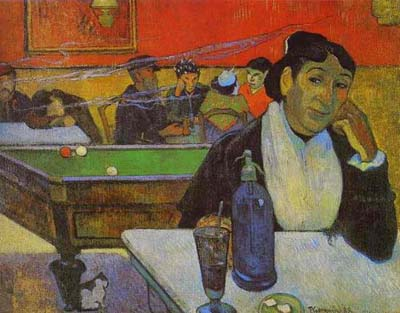night-cafe-by-gauguin