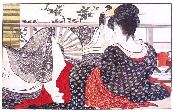 Utamaro produced over two thousand prints during his working career, ...