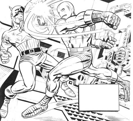 captain-america-vs-ironman-jack-kirby
