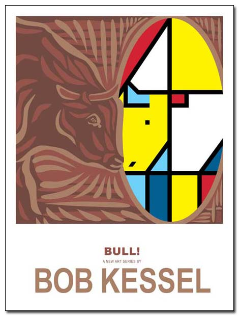 BULL! poster by bobkessel