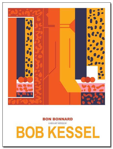 bon bonnard poster (Orange Girl) by bobkessel