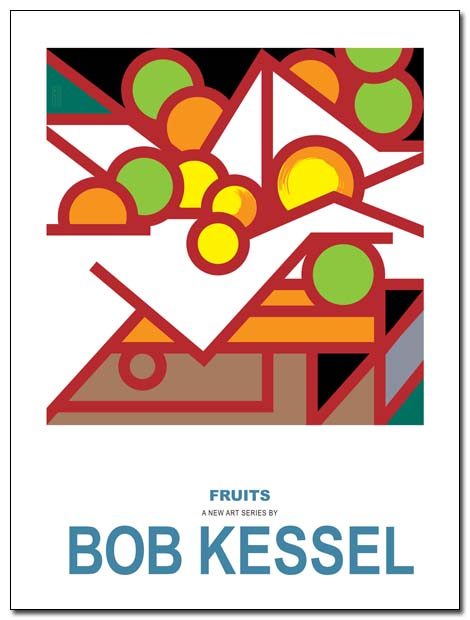 CEZANNES FRUITS poster (Douze) by bobkessel