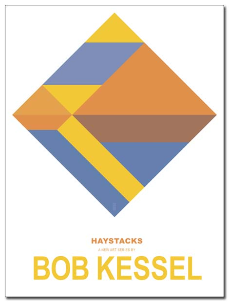 HAYSTACKS poster by bobkessel