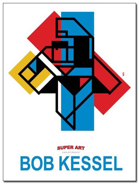 super art (Supernacular) poster by bobkessel