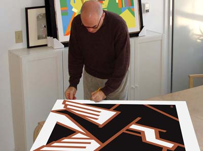 bob kessel signing print