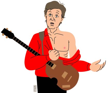 superbowl paul mccartney by bobkessel