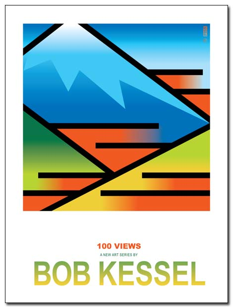 100 VIEWS POSTER BOBKESSEL