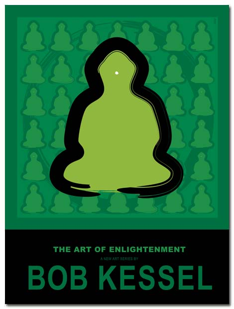 enlightenment poster by bobkessel