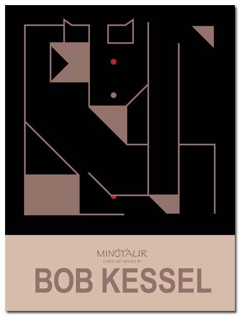 minotaur poster by bobkessel