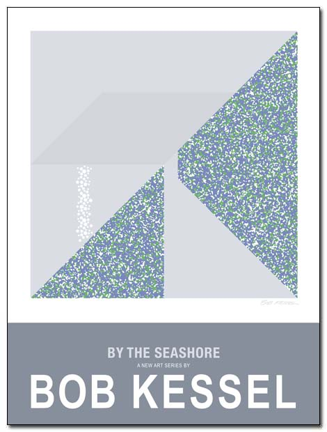 by the seashore poster (Shoreline) by bobkessel