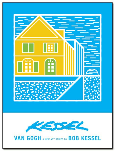 van gogh the yellow house poster by bobkessel