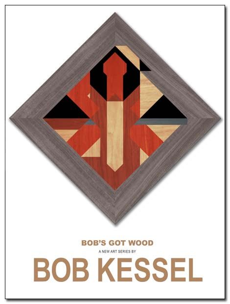 WOODEN INDIAN POSTER BY BOB KESSEL