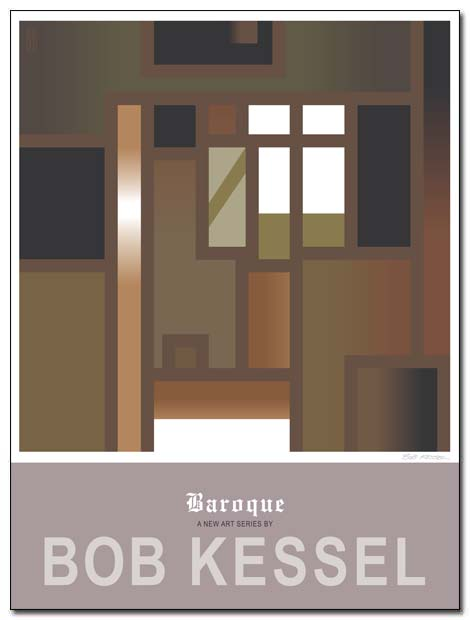 baroque poster by bobkessel