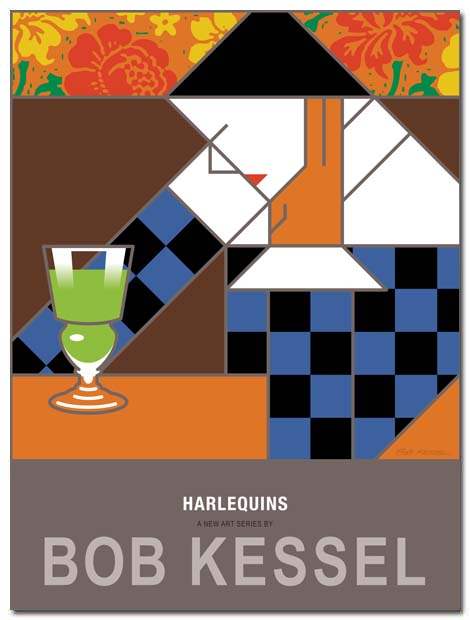 harlequins poster by bobkessel