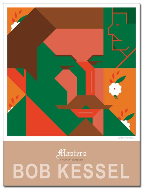 masters poster (Gauguin) by bobkessel