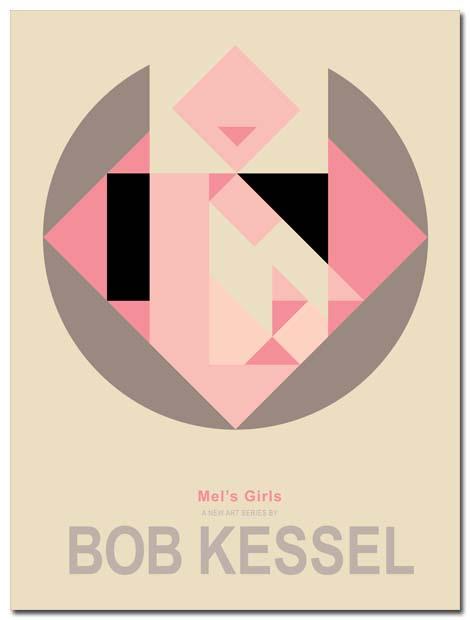 MEL'S GIRLS POSTER BOBKESSEL
