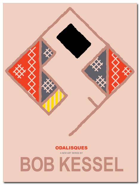 odalisque poster bobkessel