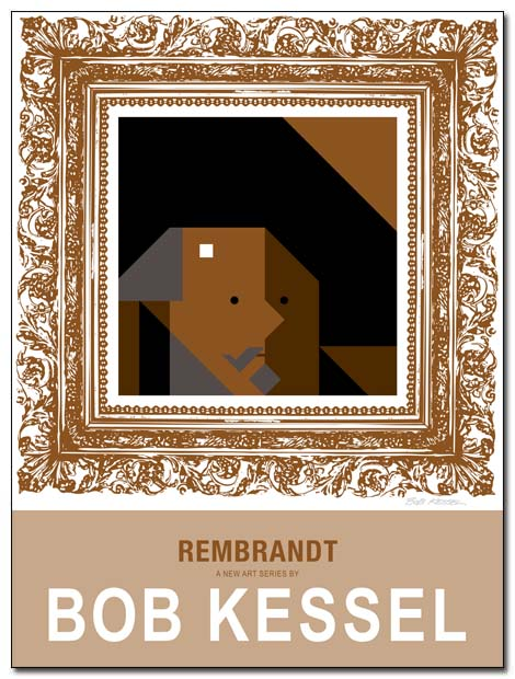 REMBRANDT POSTER BY BOBKESSEL