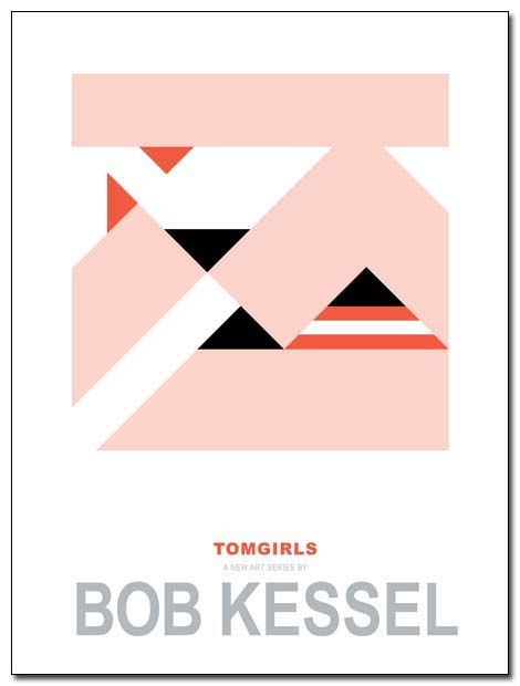 TOM GIRLS POSTER BOBKESSEL