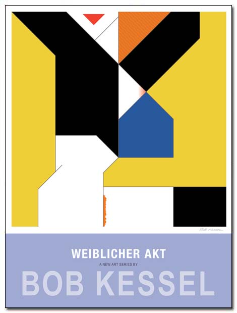 weiblicher akt poster (Blue House) by bobkessel