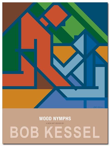 woodnymphs poster by bobkessel