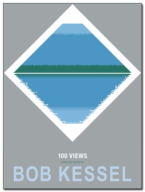 fuji water poster by bobkessel