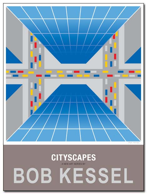 cityscapes poster by bobkessel
