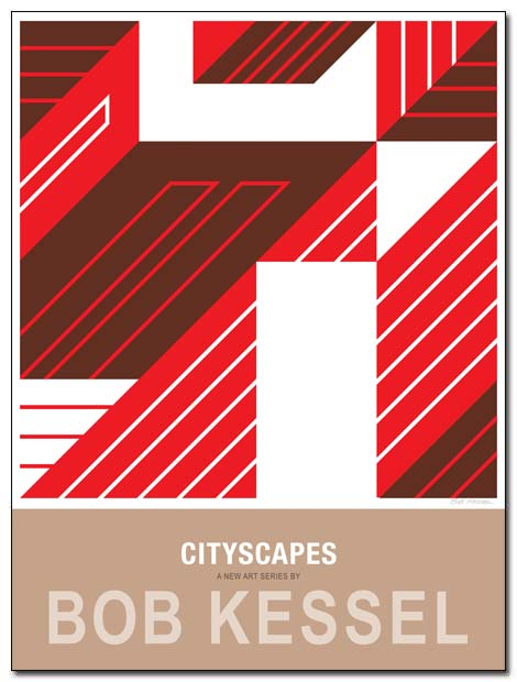 cityscapes poster scrapers by bobkessel
