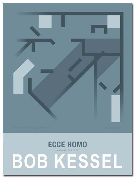 ecce homo poster by bobkessel