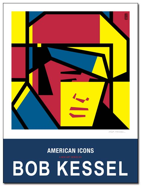 american icons brando poster by bobkessel