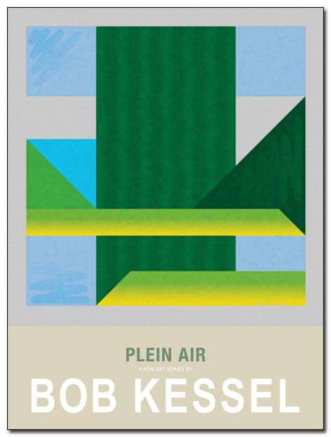 plein air poster by bobkessel