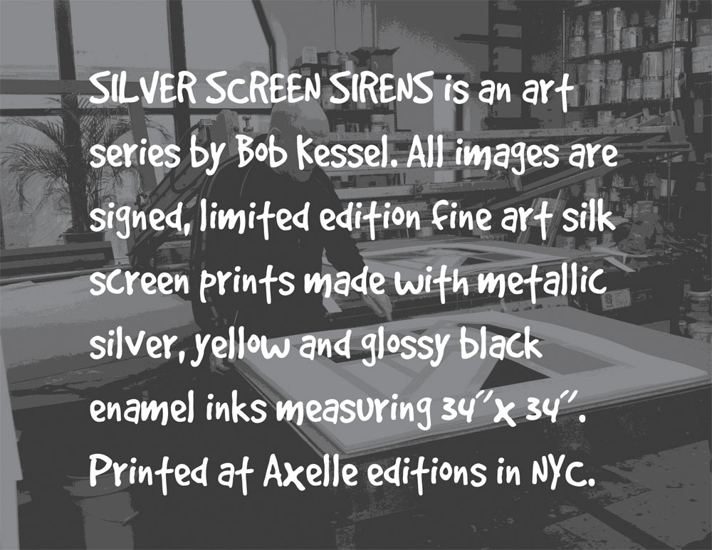 silver screen sirens by bob kessel