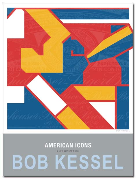 american icons poster bukowski by bobkessel