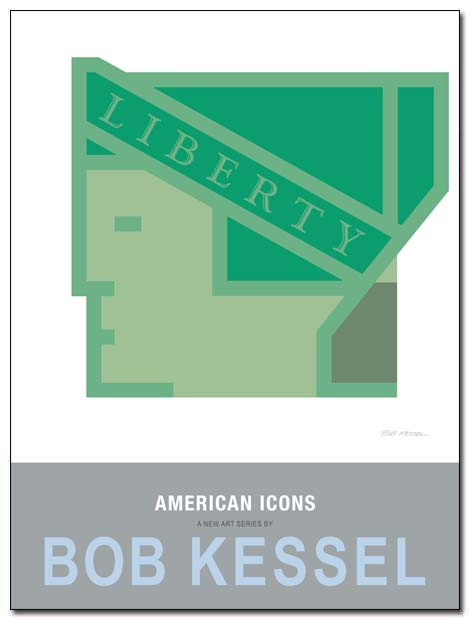american icons poster lady liberty by bobkessel