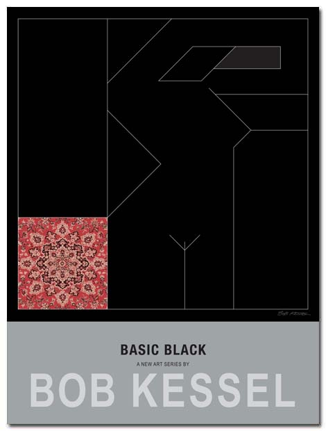 basic black poster red carpet by bobkessel
