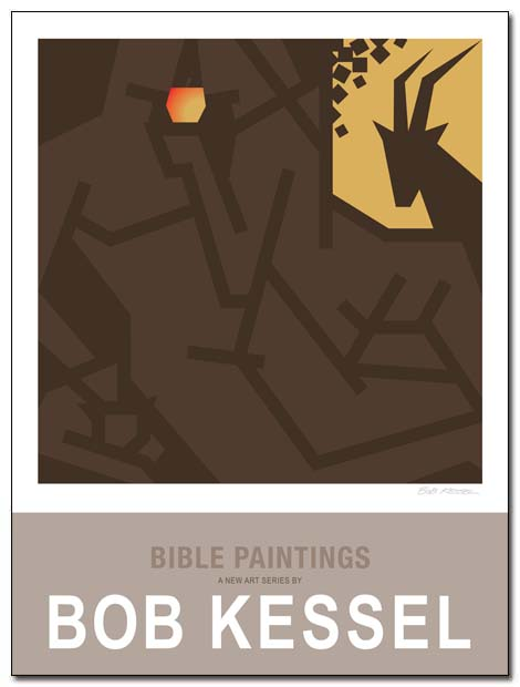 bible paintings poster by bobkessel