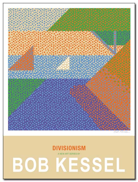 divisionism poster by bobkessel