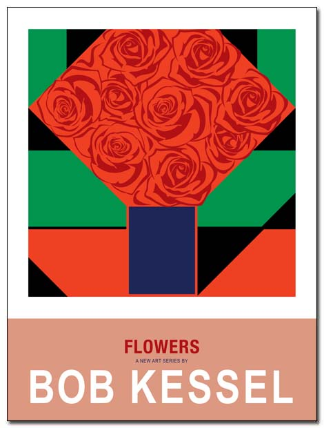 flowers poster by bobkessel