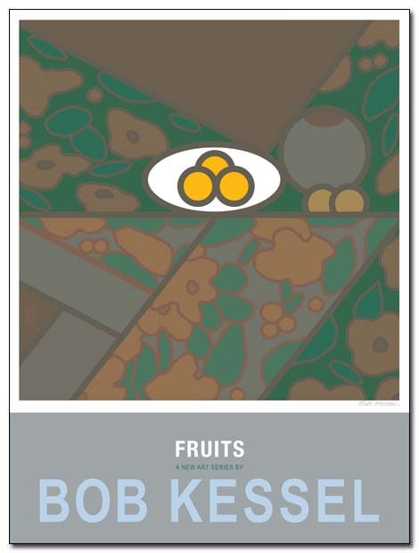 fruits poster plat de troi fruits by bobkessel