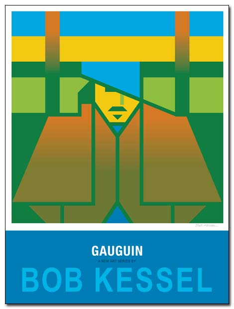gauguin poster by bobkessel