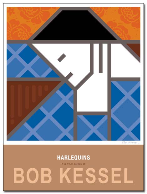 harlequin poster by bobkessel