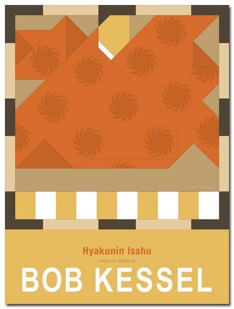 hyakuninisshu poster by bobkessel