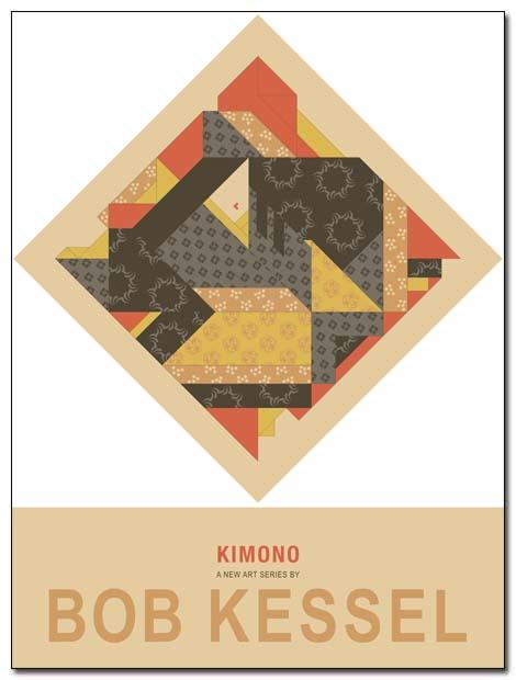 kimono poster by bobkessel