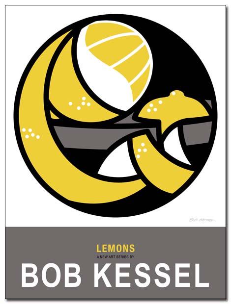 lemons poster by bobkessel