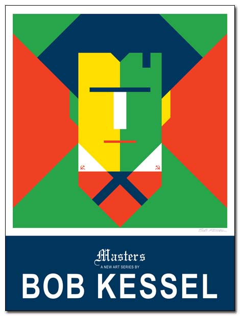 masters poster (Malevich) by bobkessel