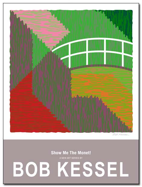 show me the monet poster (Japanese Bridge) by bobkessel